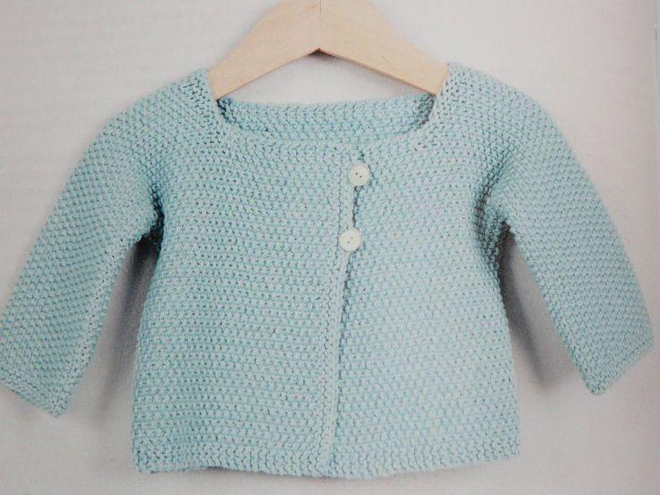 modele pull tricot bebe gratuit