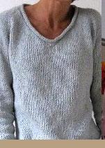 tricoter un pull femme simple