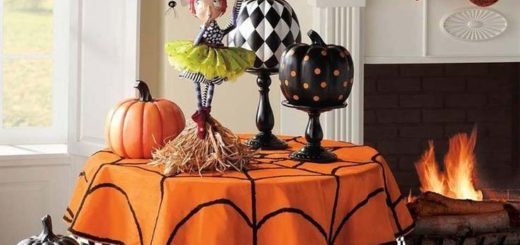 Decoration interieur maison halloween julie bas for Decoration interieur halloween
