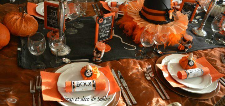 Deco De Table Theme Halloween Julie Bas