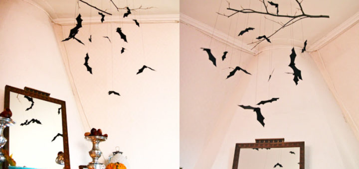 Id e d co halloween a faire soi meme julie bas - Halloween decoration a faire soi meme ...