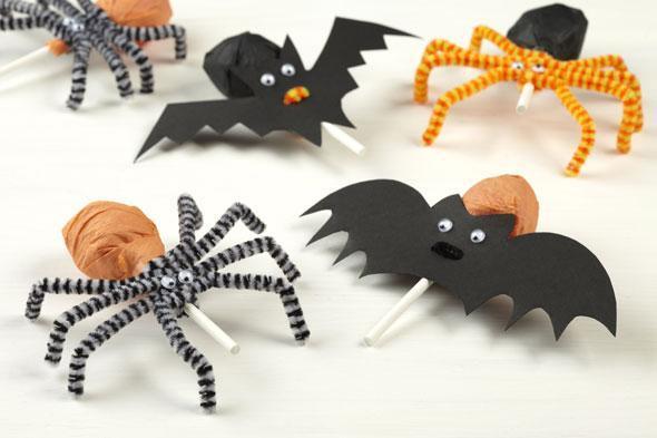 Halloween decoration fait maison - julie bas