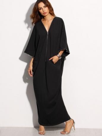 Vetement Moderne Femme : soldes robes longues julie bas ~ Nature-et-papiers.com Idées de Décoration