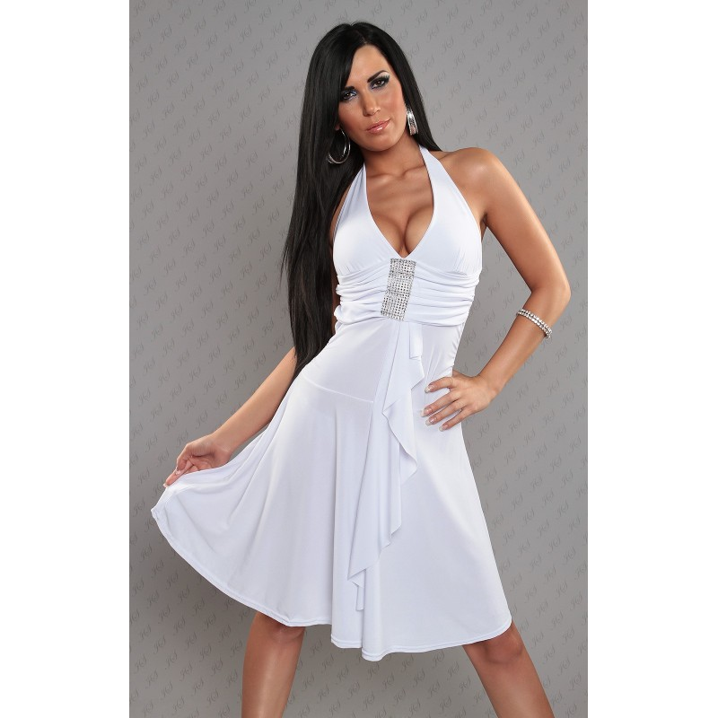 47494d7581f Robe femme fete robe de soirée blanche