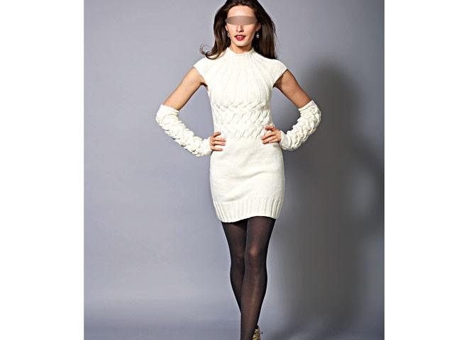 Julie Gratuit Robe Bas Femme Tricot Modele 76gbfy
