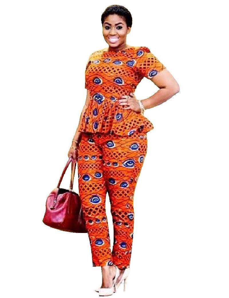 Veste en pagne africain pour femme - julie bas