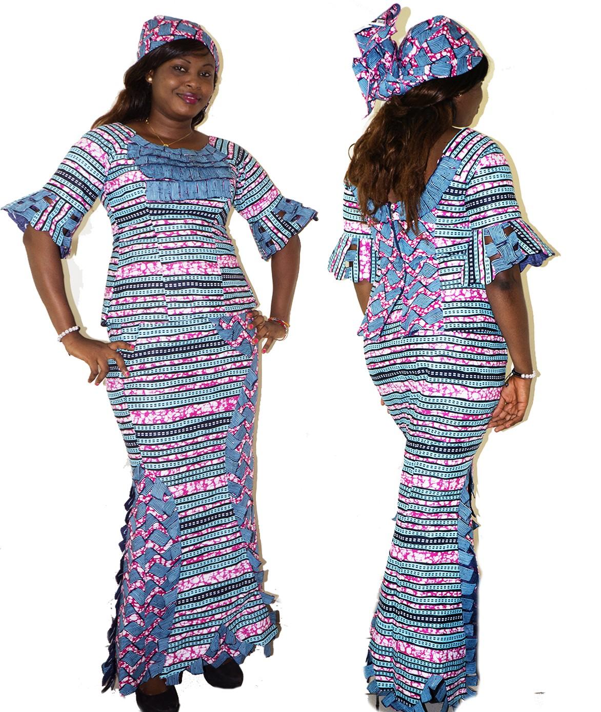 Ensemble jupe pagne africaine - julie bas