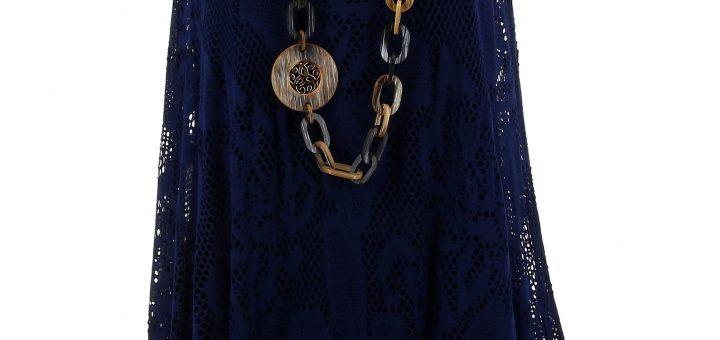baae6ee34aa Robe boheme bleu - julie bas