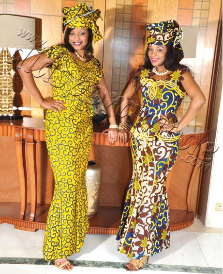 Couture africaine wax 2014