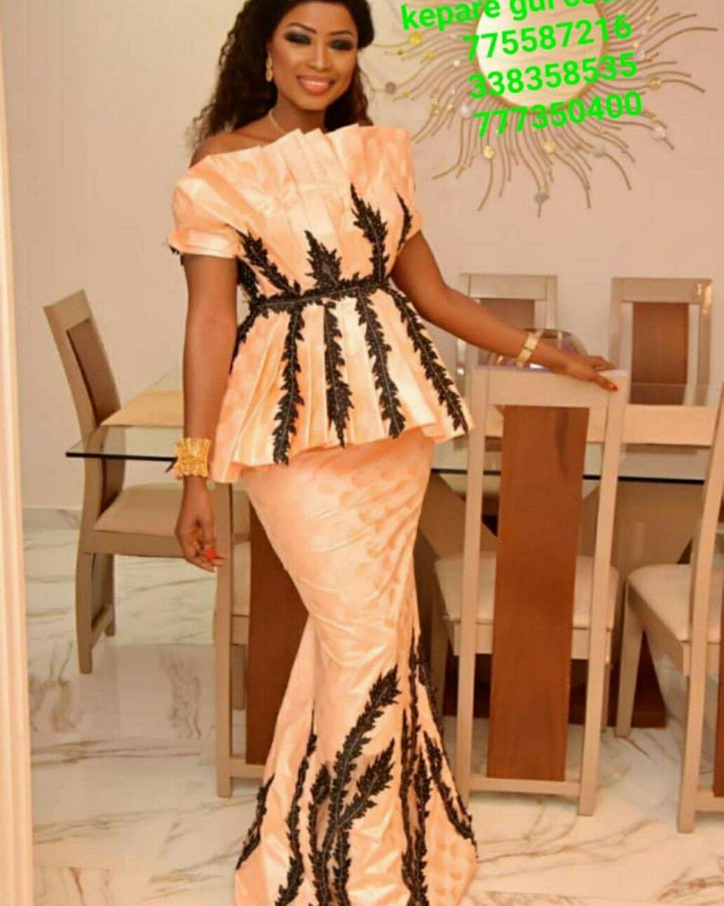 Creation mode africaine