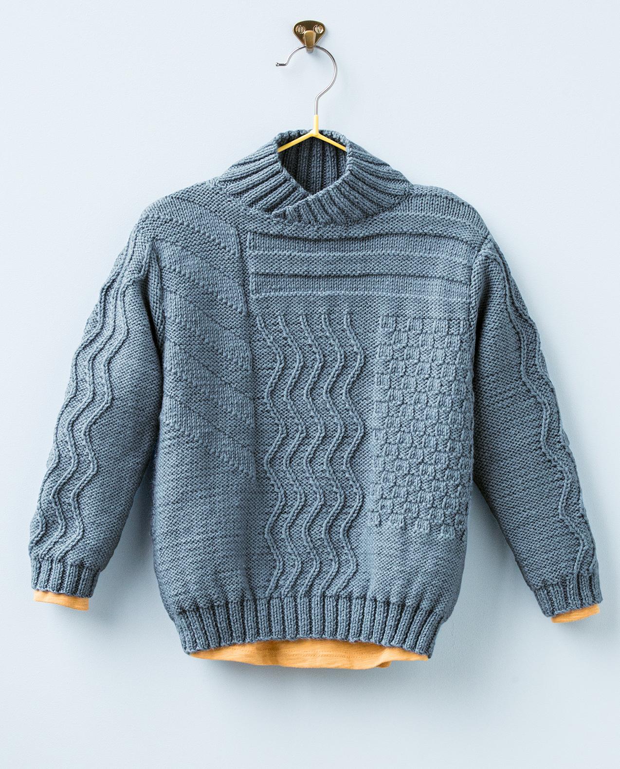 Modele tricot gratuit enfant - julie bas