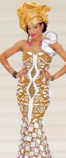 Robe africaine pour mariage