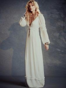 Robe longue hippie chic 2016