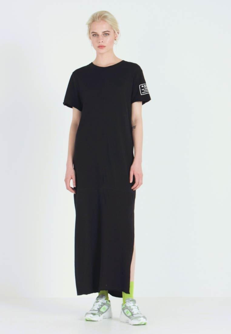 Robe longue t shirt