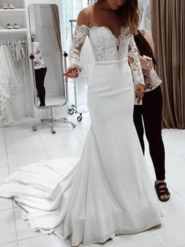 Robe mariage longue