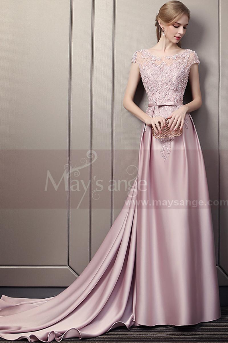 Robe mariage rose