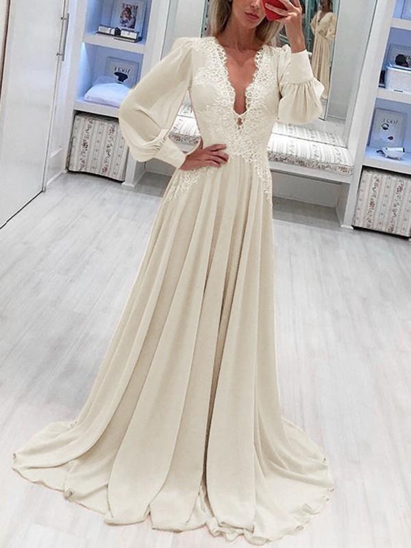 Robe maxi blanche