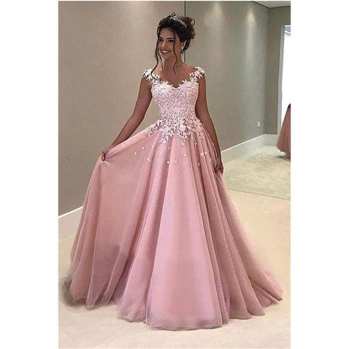 Solde robe de soirée longue