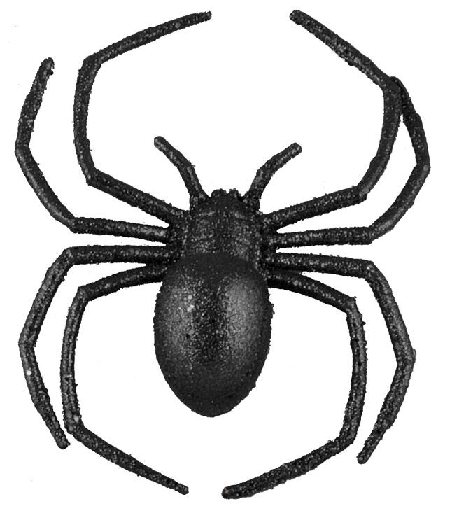 Araignée en plastique pas cher