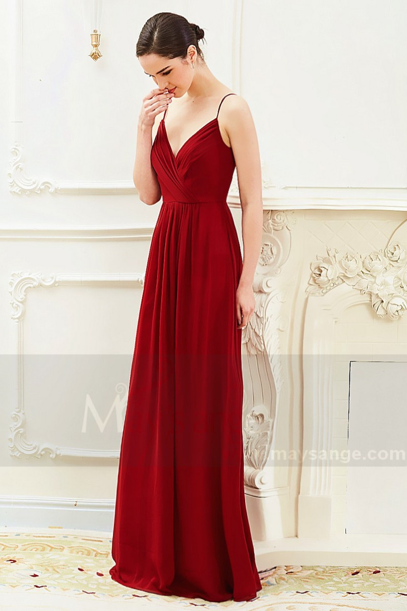 Belle robe pour ceremonie de mariage