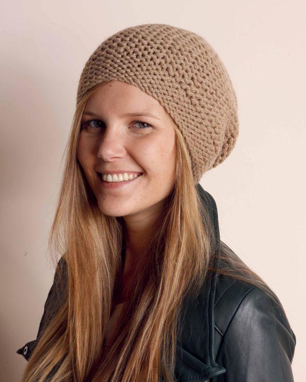 Bonnet tricot femme