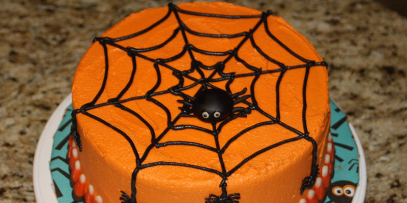 Décoration pour gateau halloween