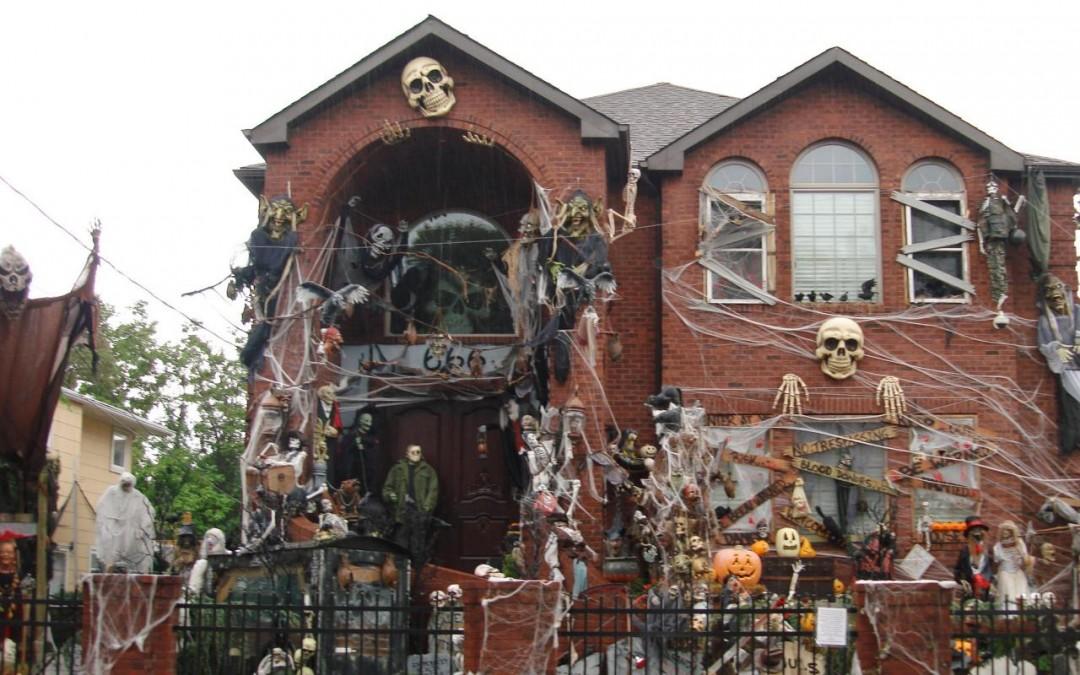 Halloween maison