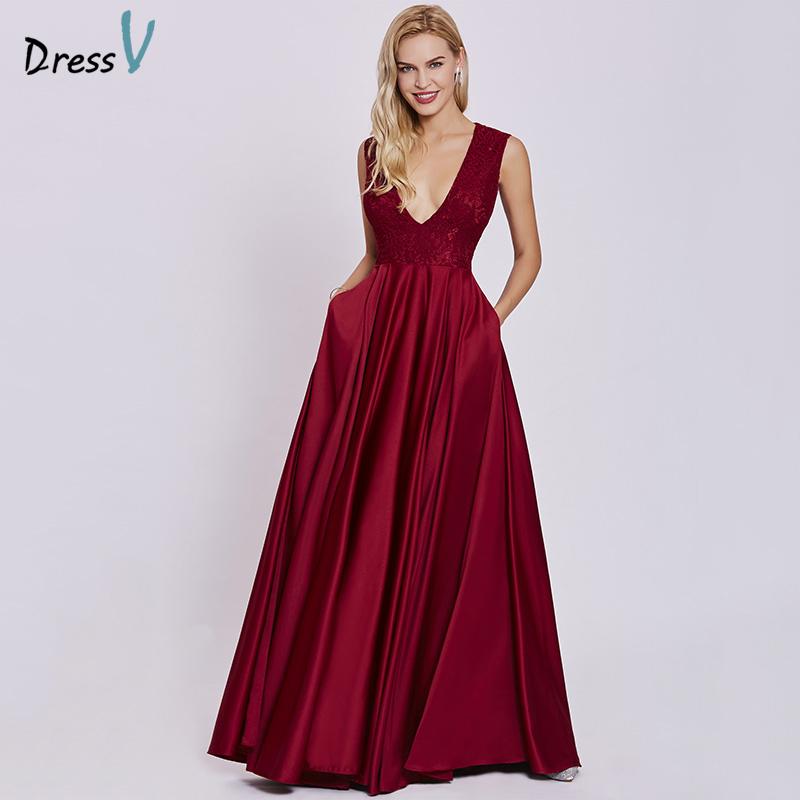 Longue robe rouge pas cher