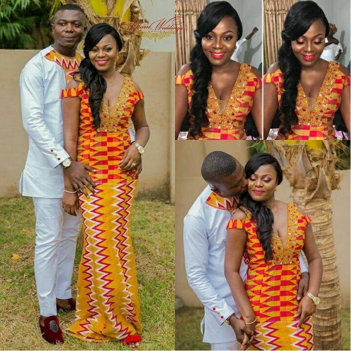 Modèle pagne africain pour mariage