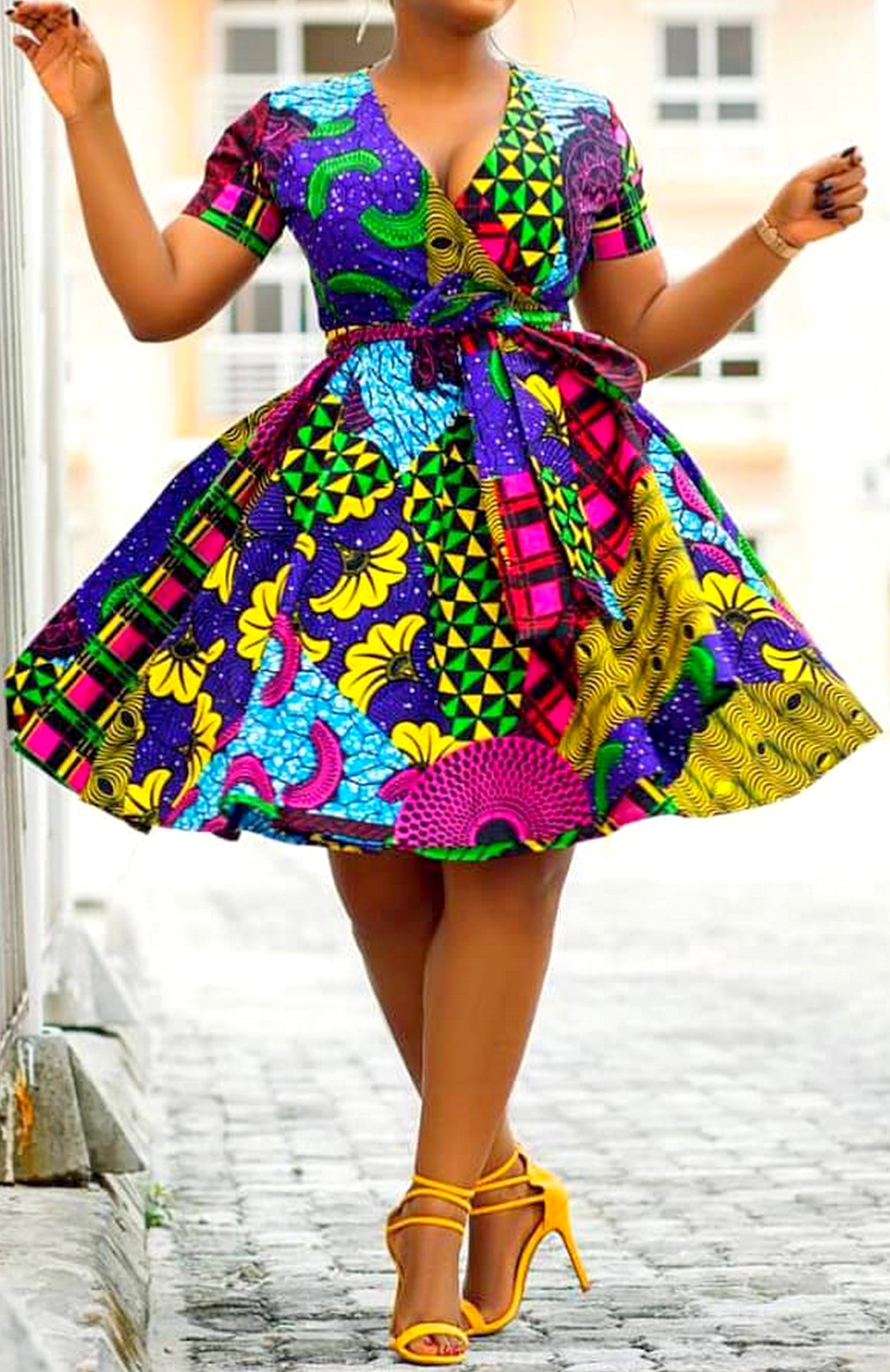 Mode africaine pagne wax