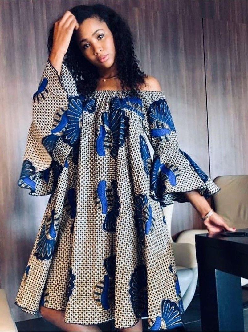 Model africain robe