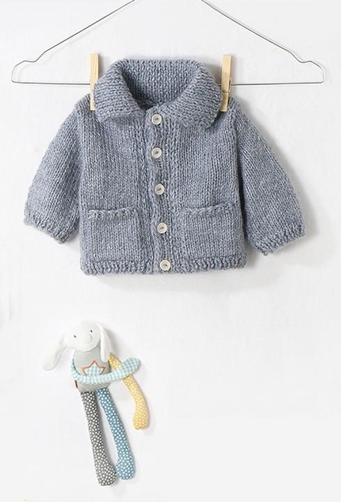 Modele tricot bebe gratuit facile