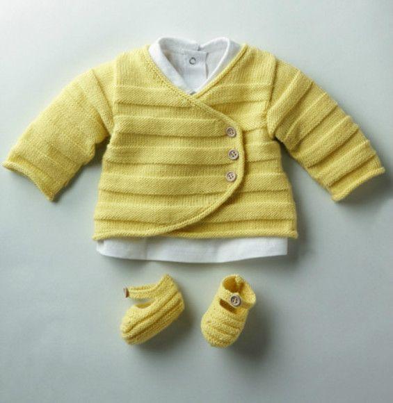 Modele tricot layette gratuit