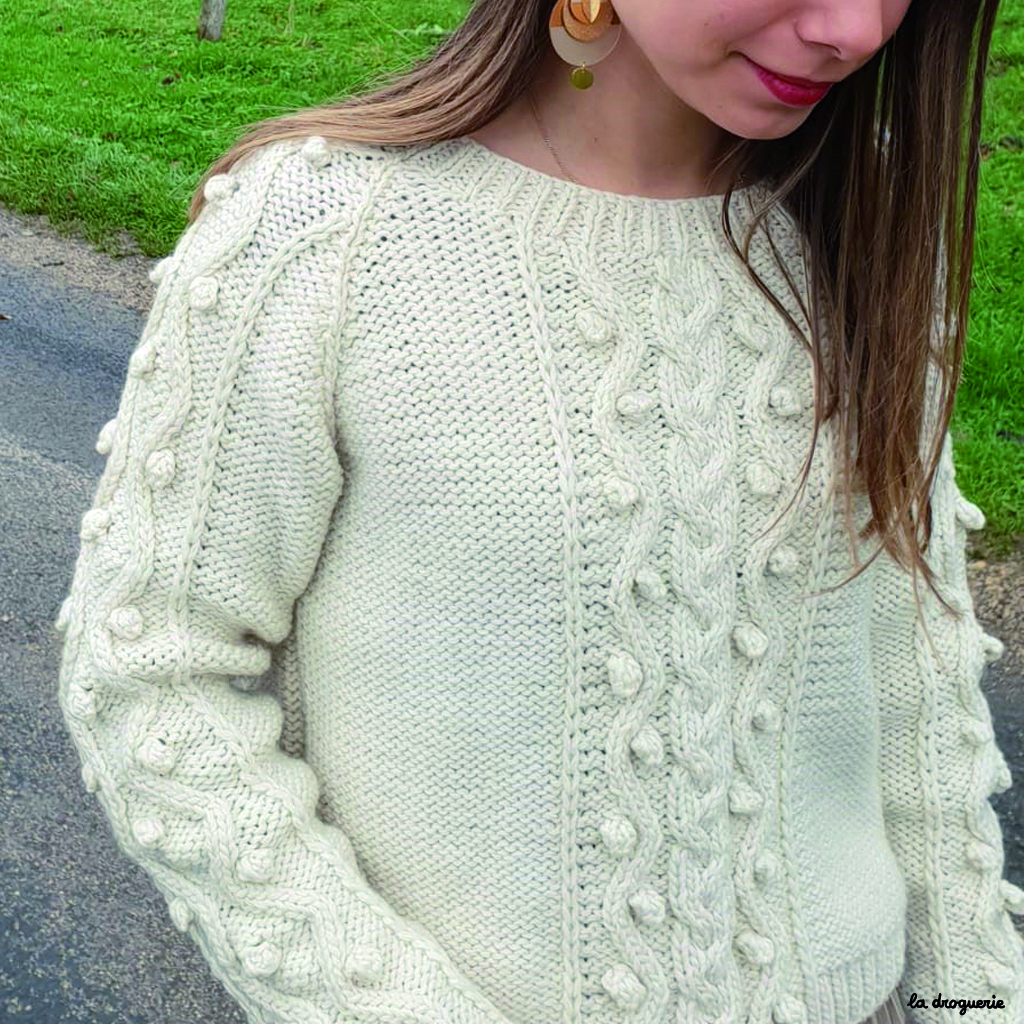 Pull en tricot femme