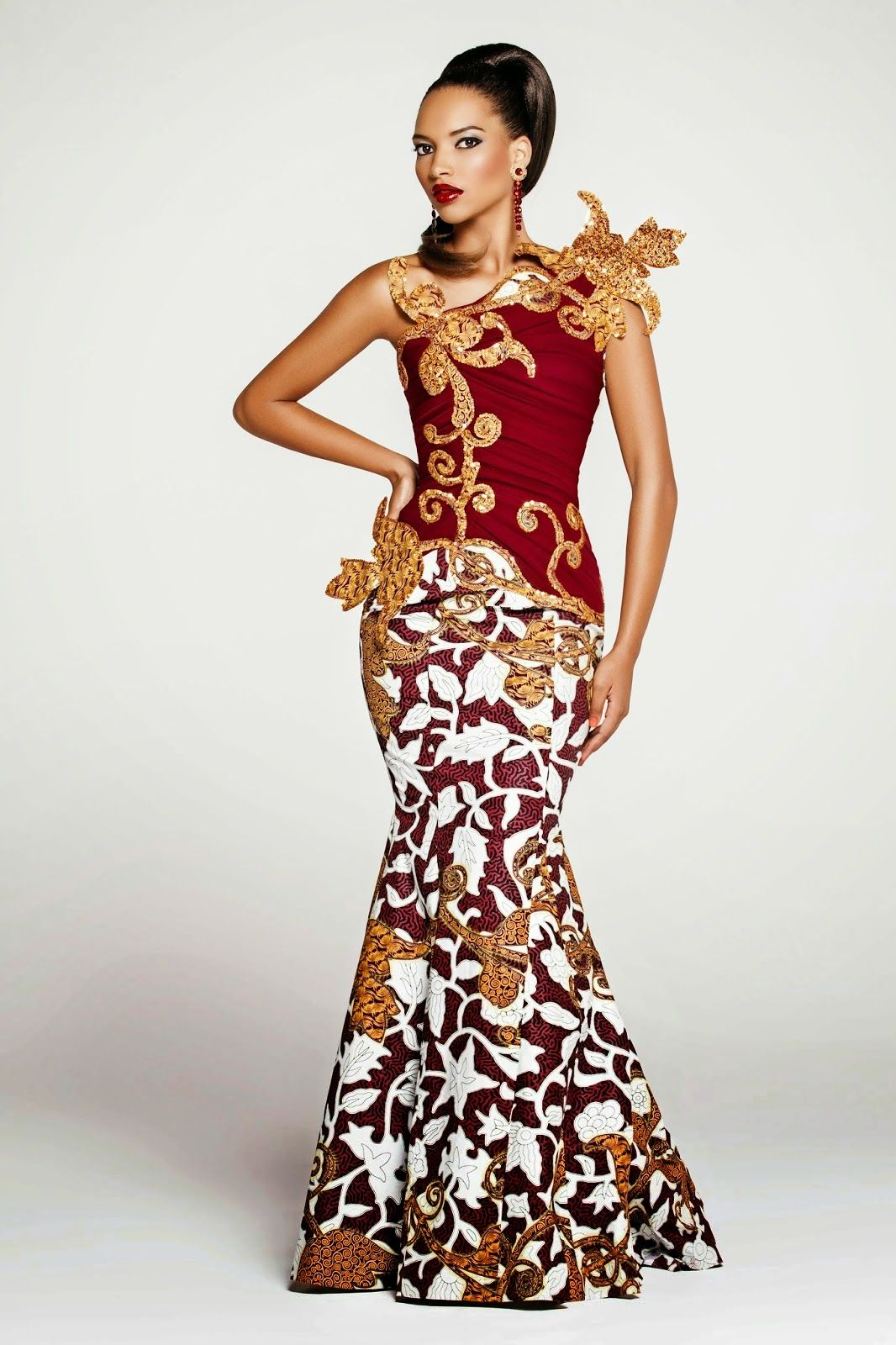 Robe africaine haute couture