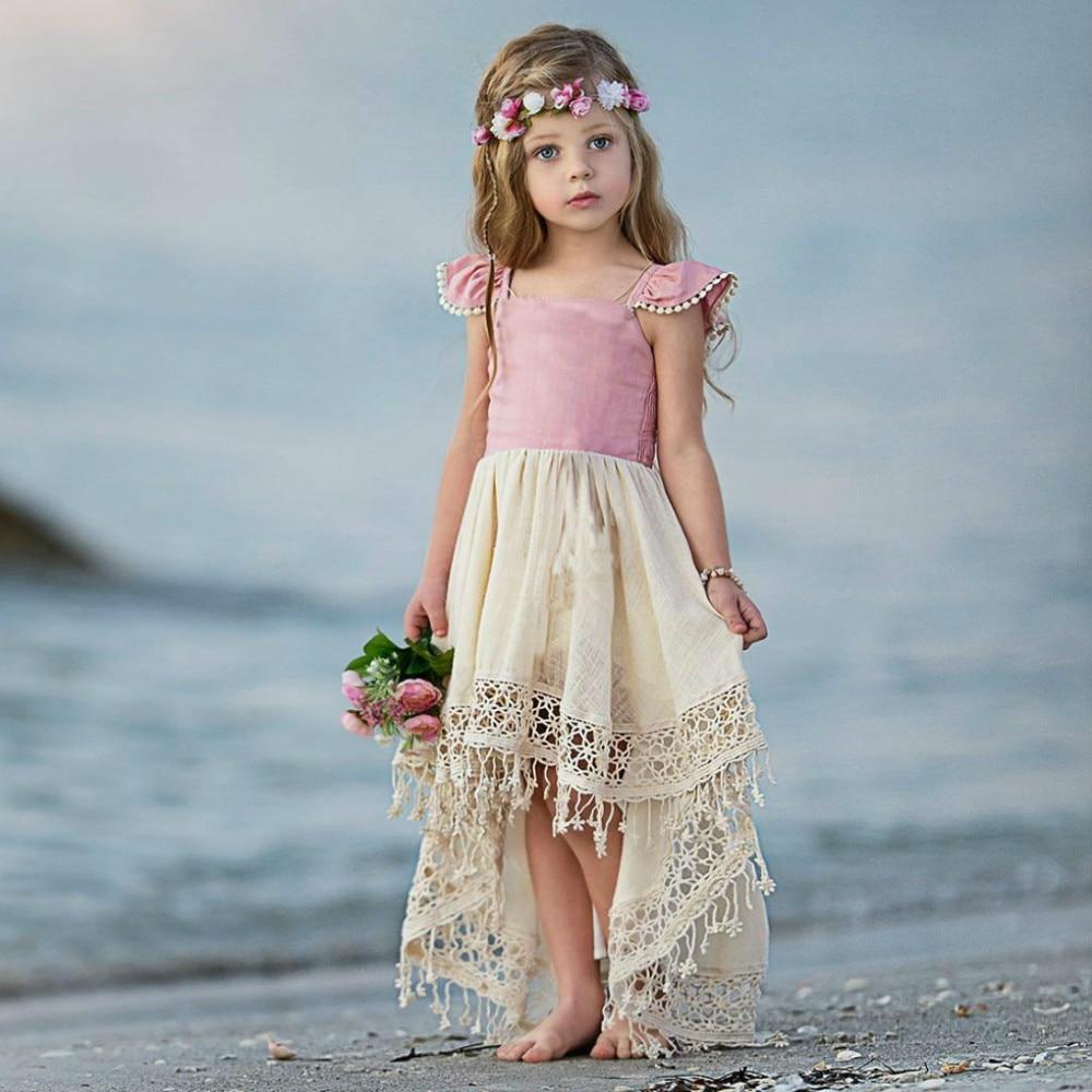 Robe boheme petite fille