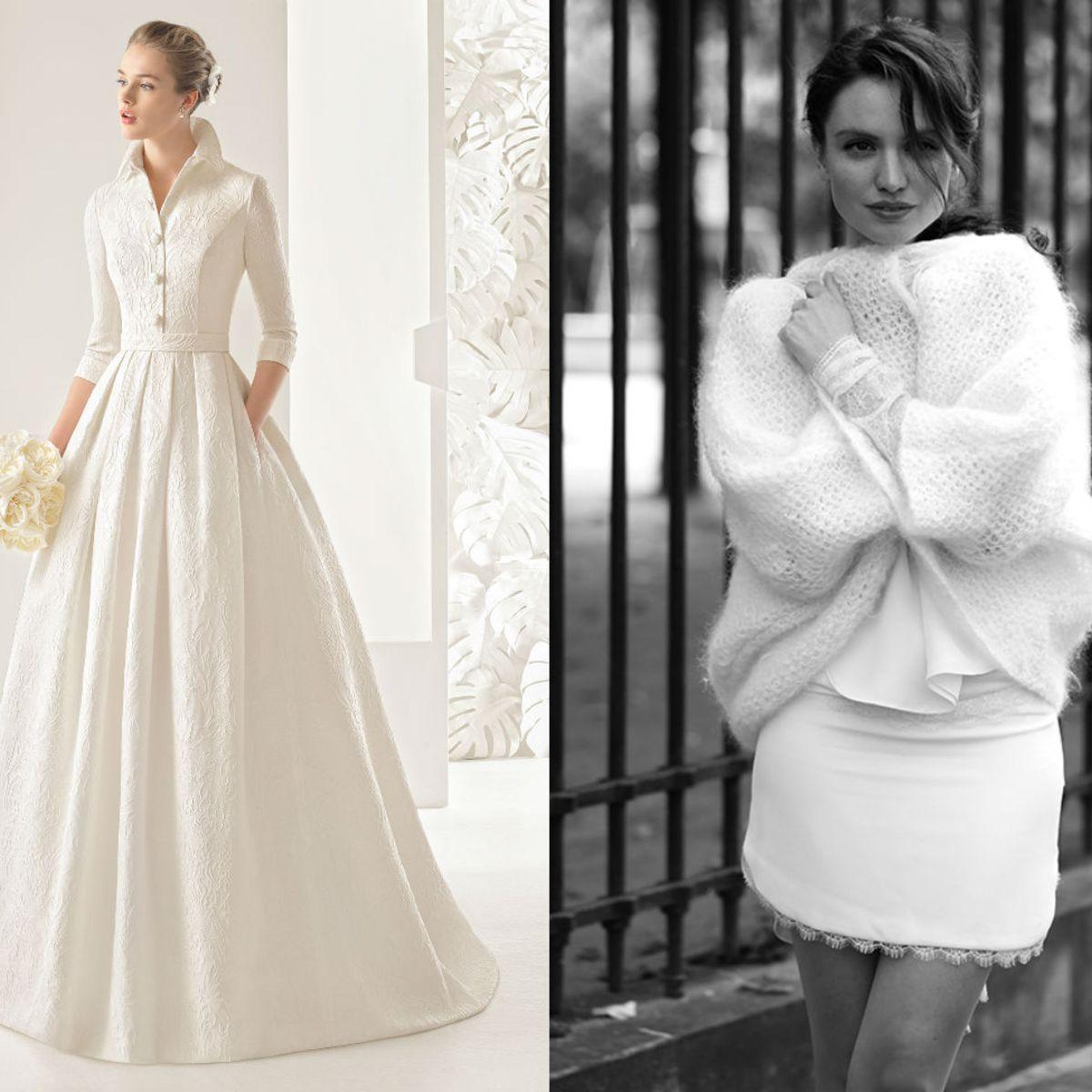 Robe mariee hiver