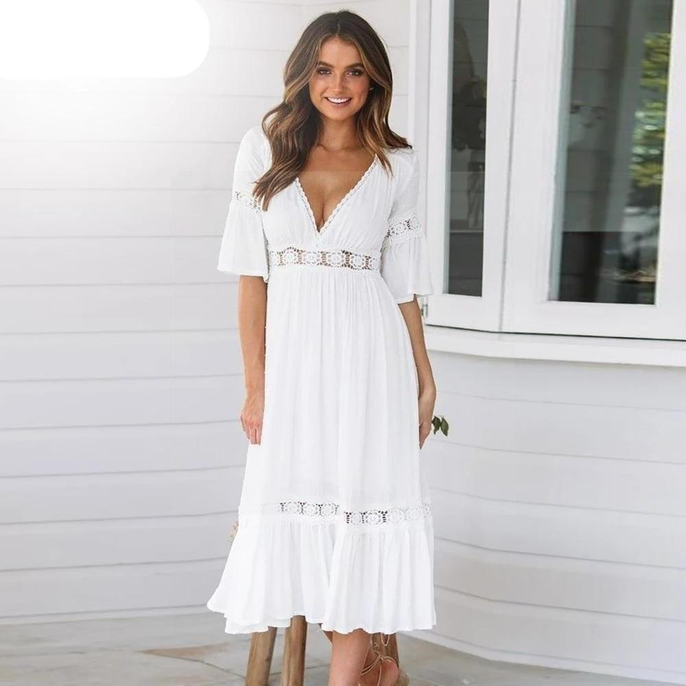 Robes blanches chic