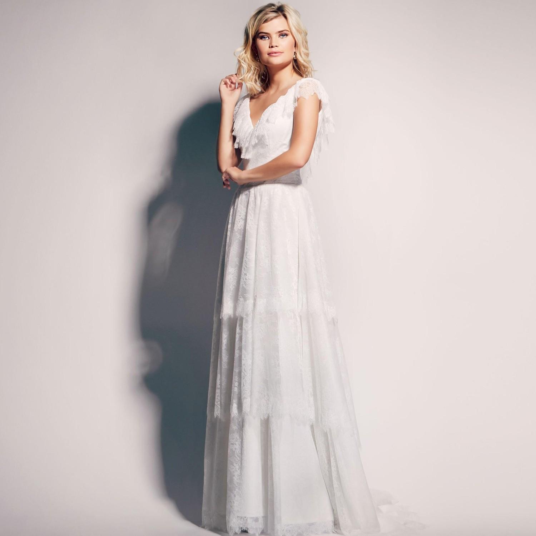 Robes de mariée bohème