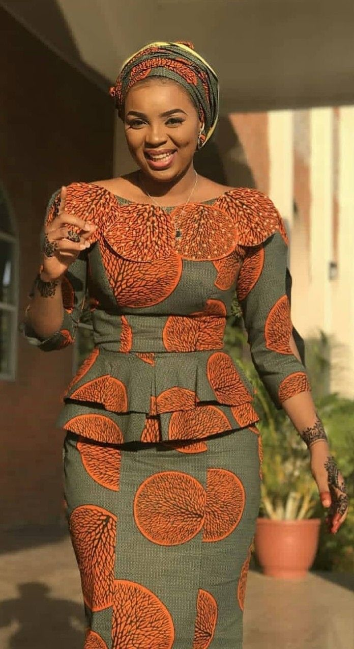 Top model couture africaine - julie bas