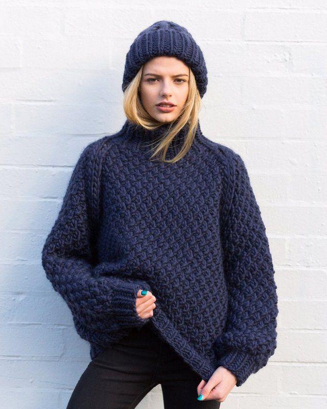 Tricot en laine femme