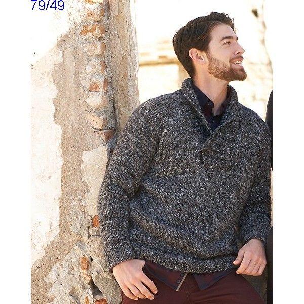Tricoter un pull homme modele gratuit