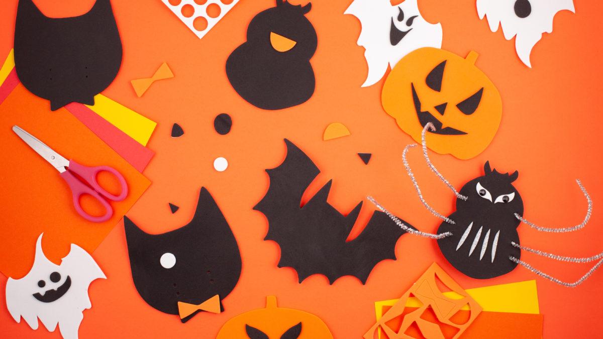 Fabrication de décoration pour halloween