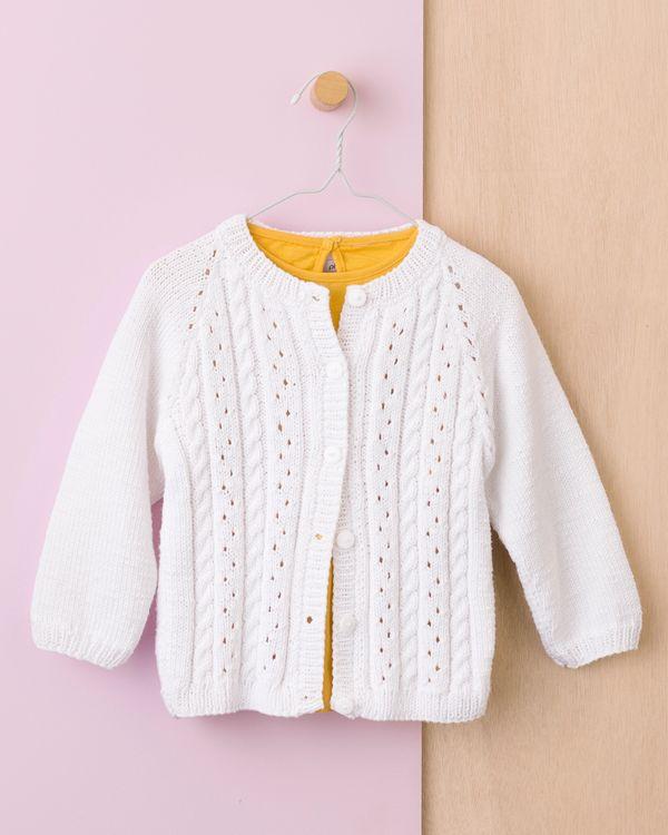 Gilet fille tricot gratuit