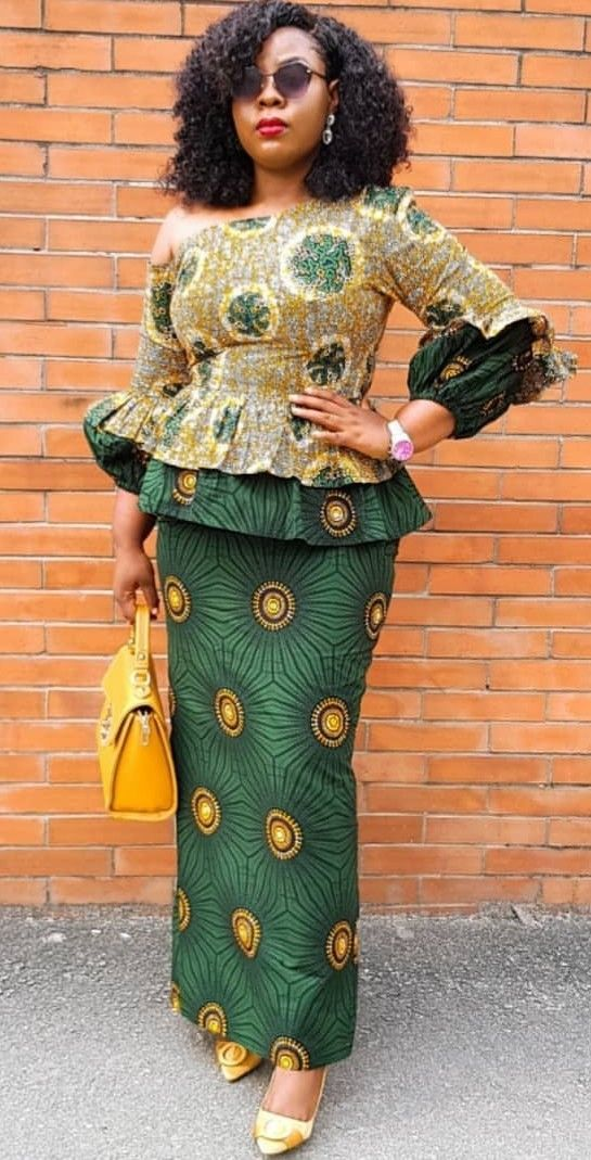 Modele couture africaine catalogue