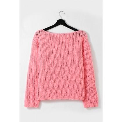 Modele de pull a tricoter gratuit femme