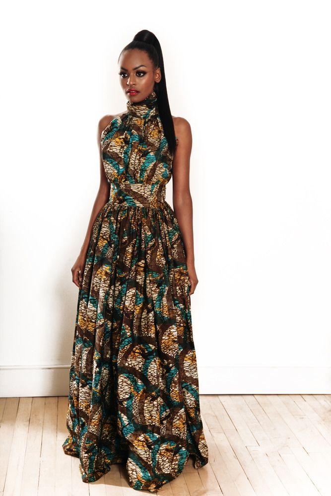 Modele des robes africaine