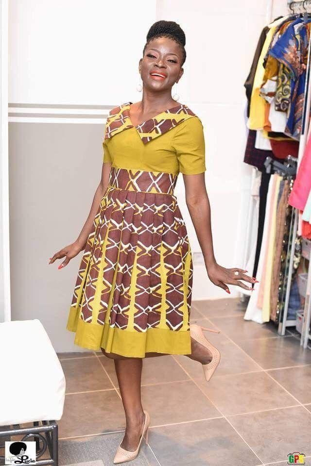 Modele robe africaine femme