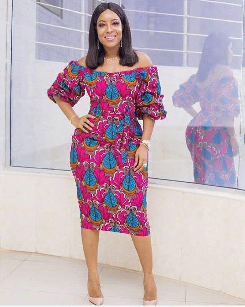 Pagne africain robe