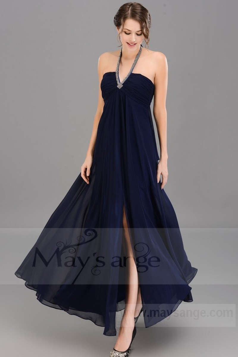 Robe cocktail longue